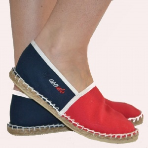 Espadrilles FRENCH-B-Rouge